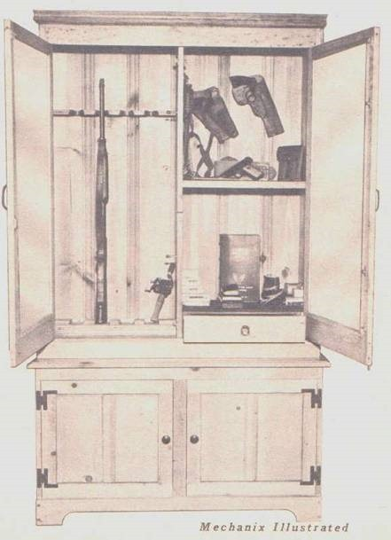 Wood Gun Cabinet Start Your Next Project For Gun Cabinets