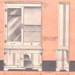 Gun Cabinet Plan Model 1954