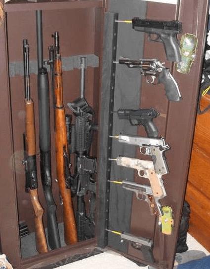 Gun Cabinet Plans - it's Free