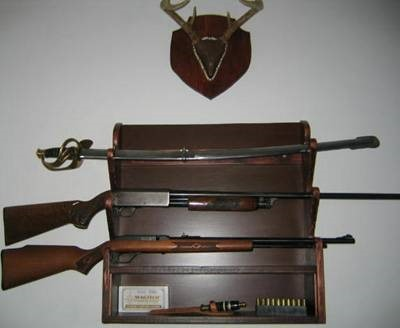 Free Homemade Rifle Rack Plan