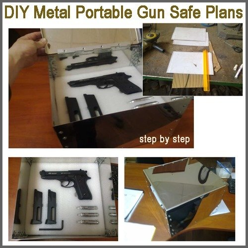 DIY Metal Portable Gun Safe Plans