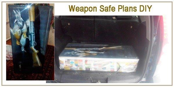 Weapon Safe Plans DIY