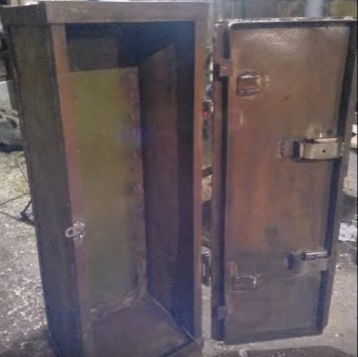 A Handmade Metal Safe Built For Your Weaponry