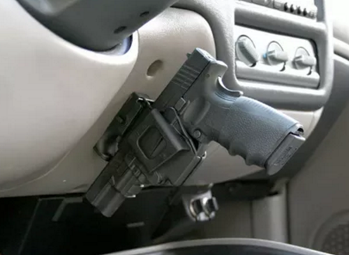 How to hide weapons in a car
